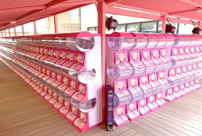 ガチャガチャ | タピオカ専門店のカフェをお探しならステムリゾートSTEM RESORT -HAPPY BEARCH-国際通りドンキ屋上