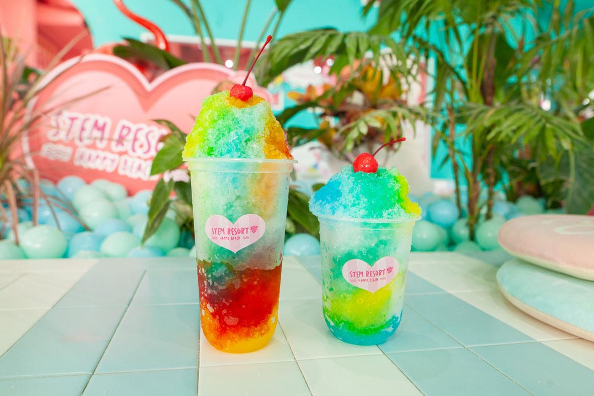 かき氷 | 那覇でカフェバーをお探しならタピオカがおいしいお店stem-resort-cafe