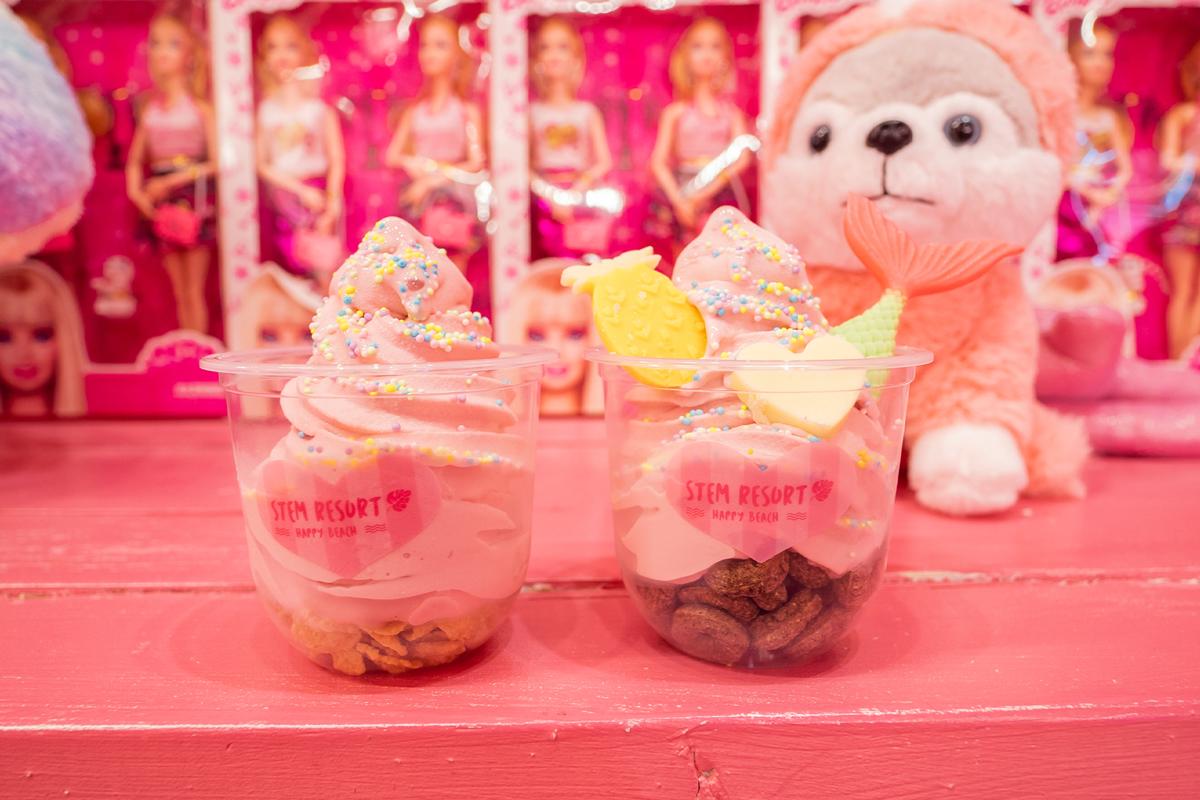 ステムリゾートSTEM RESORT -HAPPY BEARCH-国際通りドンキ屋上 ソフトクリーム | カフェでソフトクリームをデコって楽しんじゃおう